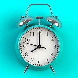 A clock on 8 o'clock